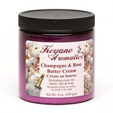 Keyano Champagne & Rose Butter Cream 8 oz-0