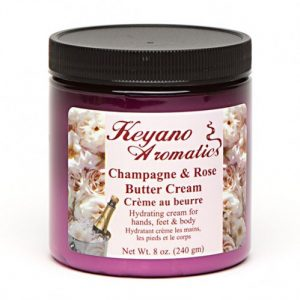 Keyano Champagne & Rose Butter Cream 8 oz-0