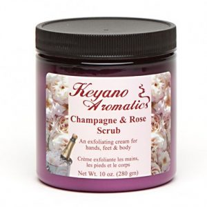 Keyano Champagne & Rose Scrub 10 oz-0