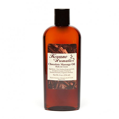 Keyano Chocolate Massage Oil 8 oz-0