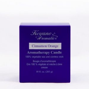 Keyano Cinnamon Orange Candle 10 oz-0