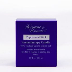 Keyano Peppermint Stick Candle 10 oz-0