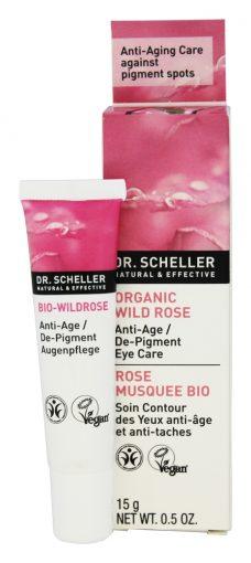 Dr.Scheller Organic Wild Rose Anti-Age De-Pigment Eye Care 0.5 oz-0