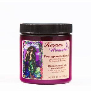 Keyano Pomegranate Scrub 10 oz-0