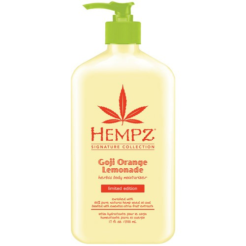 Hempz Goji Orange Lemonade Herbal Body Moisturizer 17 oz.-0