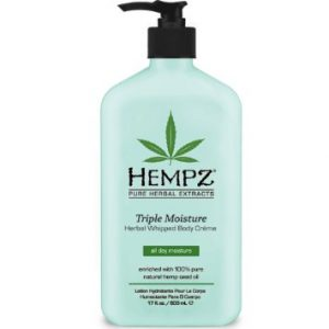Hempz Triple Moisture Herbal Whipped Body Crème 17 oz.-0