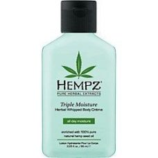 Hempz Triple Moisture Herbal Whipped Body Crème 2.25 oz.-0