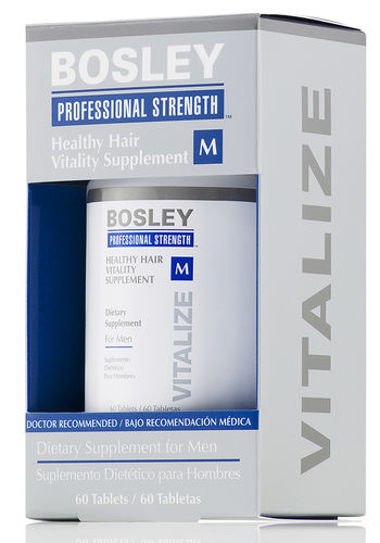BosleyPro Healthy Hair Men's Supplements - 60 ct.-0