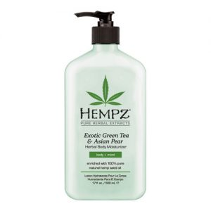 Hempz Exotic Green Tea & Asian Pear Herbal Moisturizer 17 oz.-0