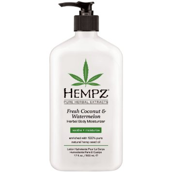 Hempz Fresh Coconut Watermelon Herbal Body Moisturizer 17 oz.-0