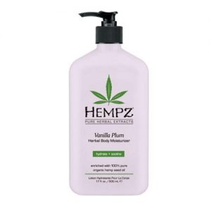 Hempz Vanilla Plum Herbal Body Moisturizer 17 oz.-0