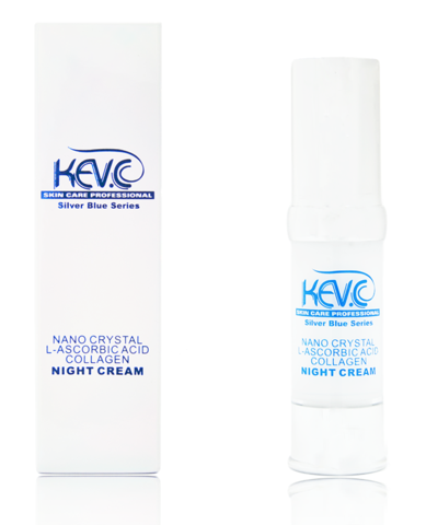 KEV.C Nano Crystal L-Ascorbic Collagen Night Cream 20 ml-0