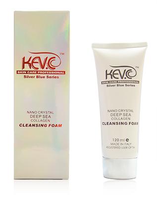KEV.C Nano Crystal Deep Sea Collagen Cleansing Foam 120 ml-0