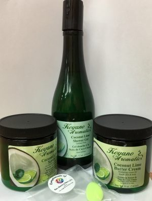 KEYANO COCONUT LIME BODY CARE KIT -0