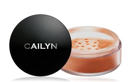 CAILYN Deluxe Mineral Blush Powder Burnt Orange 0.32 oz-0