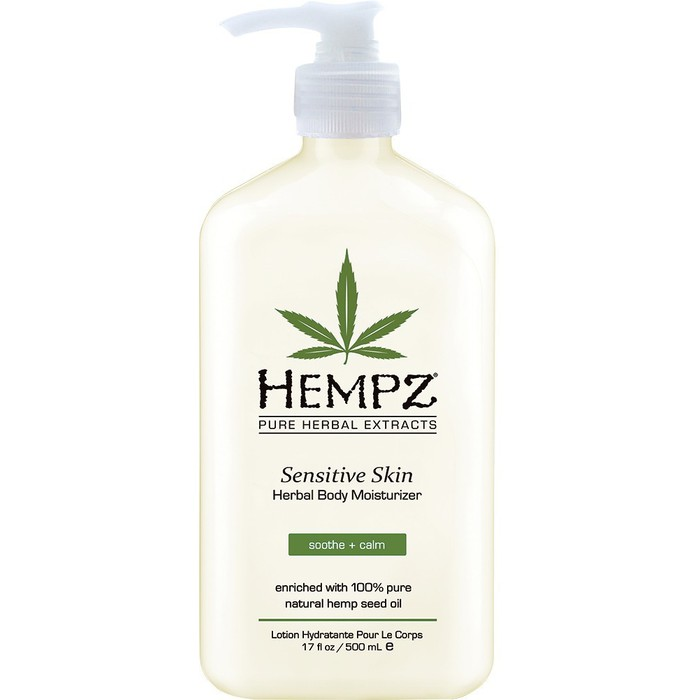 Hempz Sensitive Skin Herbal Body Moisturizer 17 oz-0