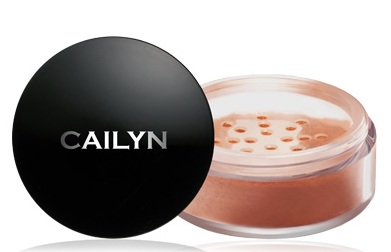 CAILYN Deluxe Mineral Blush Powder Peach Pink 0.32 oz-0