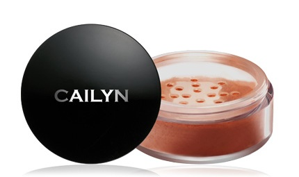 CAILYN Deluxe Mineral Blush Powder Dusty Rose 0.32 oz-0