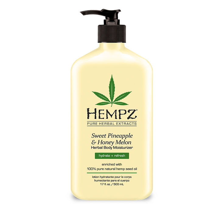 Hempz Sweet Pineapple & Honey Melon Herbal Body Moisturizer 17 oz-0