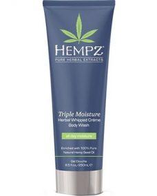 Hempz Triple Moisture Herbal Whipped Crème Body Wash 8.5 oz-0