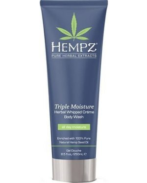 Hempz Triple Moisture Herbal Whipped Crème Body Wash 8.5 oz-0