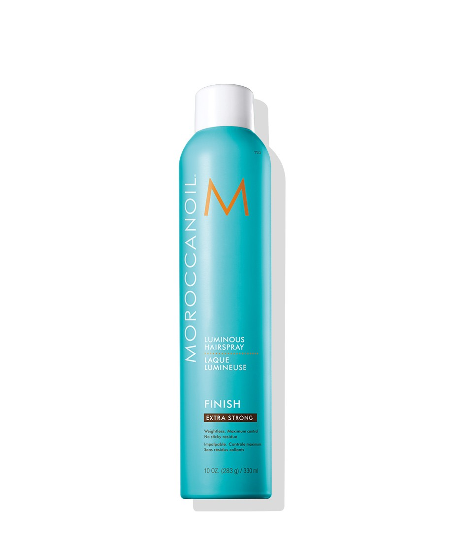 Moroccanoi lLuminous Hairspray Extra Strong 55% 10 oz-0