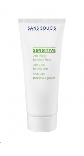 Sans Soucis Sensitive 24-hour Care for Oily Skin with Aloe Vera 40 ml-0
