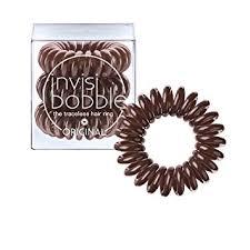 Invisibobble 3 traceless Hair Ring Pretzel Brown-0