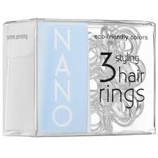 Invisibobble Nano Traceless Hair Ring Crystal Clear-0