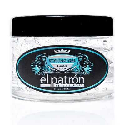 El Patron Be The Boss Styling Gel Classic Hold 10.5 Oz-0